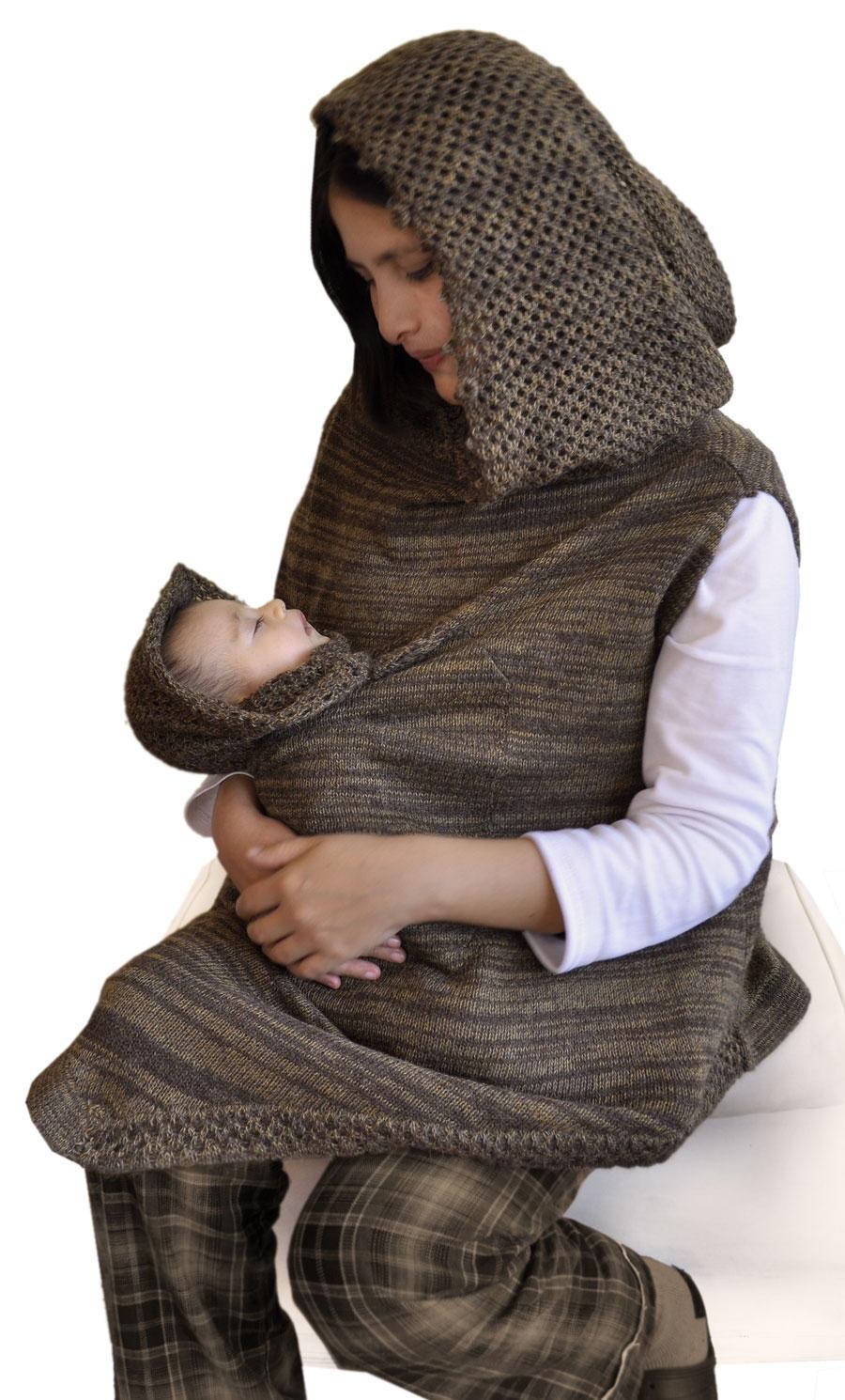 3e917add81f Poncho maman et bebe - poncho de portage